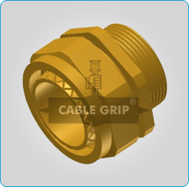 BW 2 Parts Cable Glands - 3D