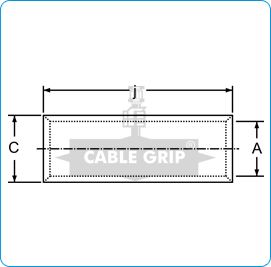 CGI Copper Tubular In-Line Connectors Heavy - Drawing 1