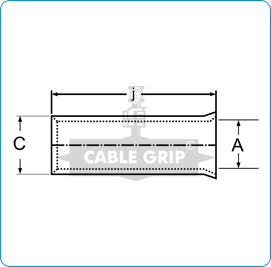 CGI End Sealing Ferrules Non Insulated - Drawing